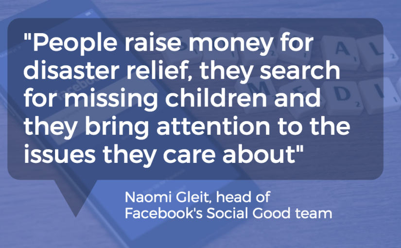 Facebook Update: Fundraiser Pages for Nonprofit Donations