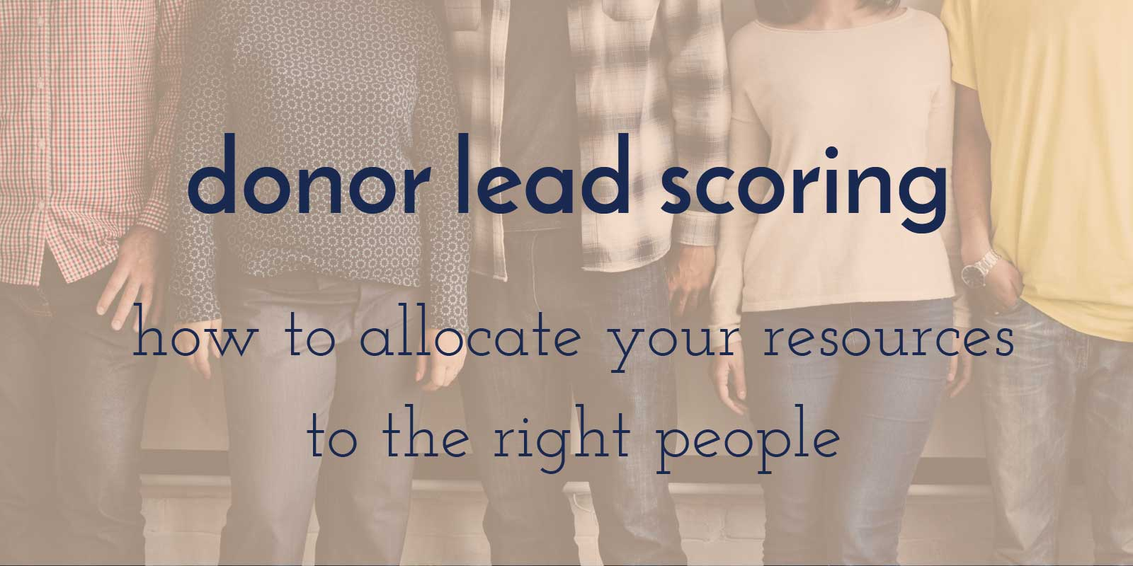 donor-lead-scoring