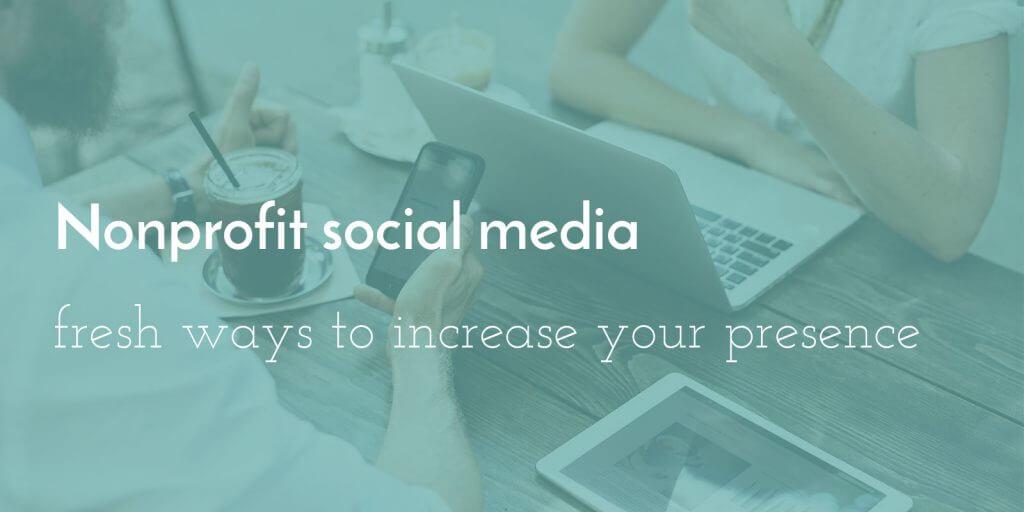 nonprofit-social-media-presence