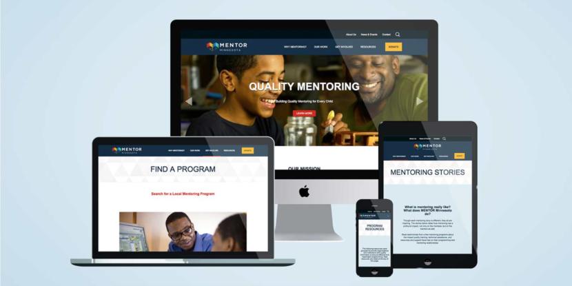 Nonprofit-Website-Design-MENTOR