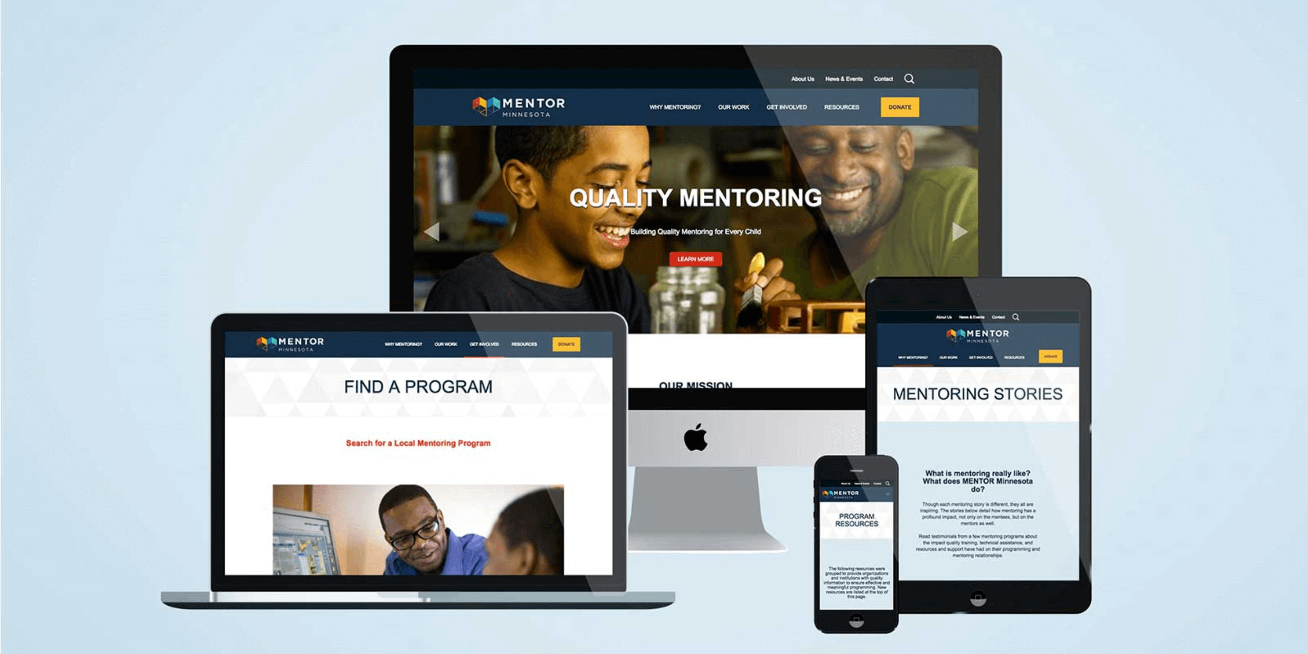 Nonprofit-Website-Design-MENTOR