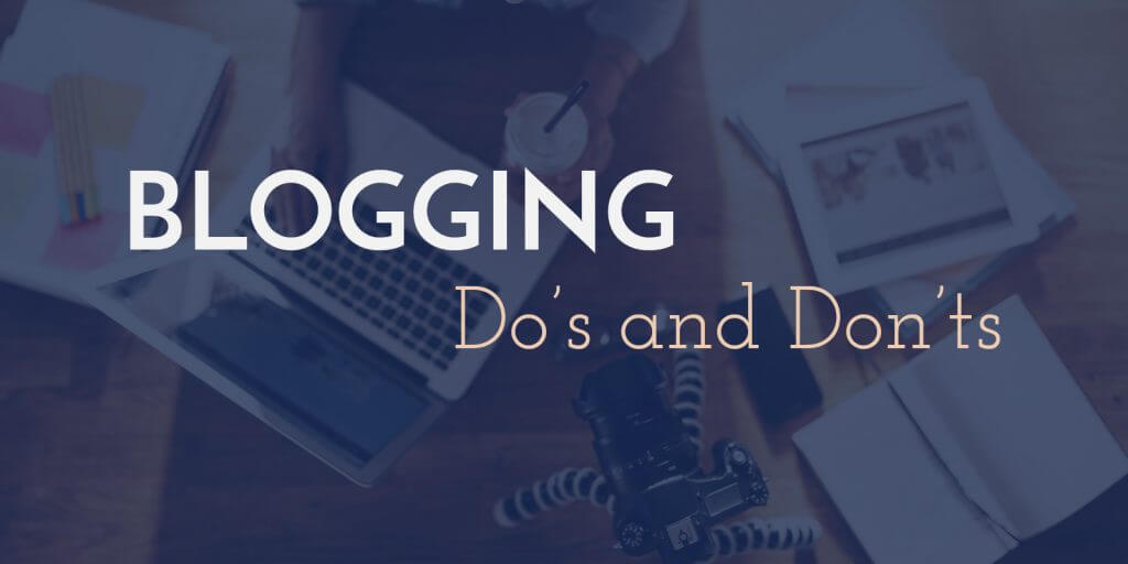 Blogging Dos and Don'ts for Nonprofits