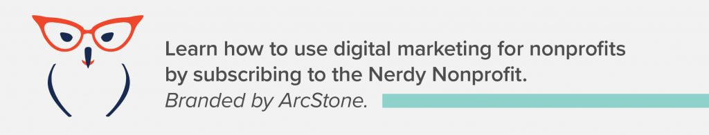 Subscribe to The Nerdy Nonprofit Newsletter