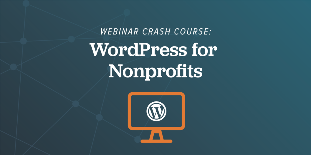 WordPress for Nonprofits Webinar